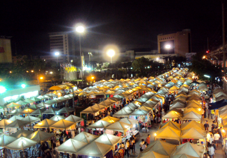 Marché de nuit, Bangkok
