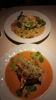 Curry pinottes et tofu épicé